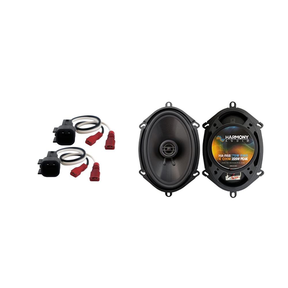 Fits Ford F-450 2017 Rear Door Replacement Speaker Harmony HA-R68 Speakers New