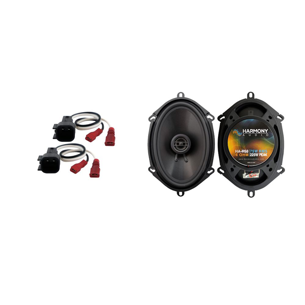 Fits Ford F-550 2017 Front Door Replacement Speaker Harmony HA-R68 Speakers New