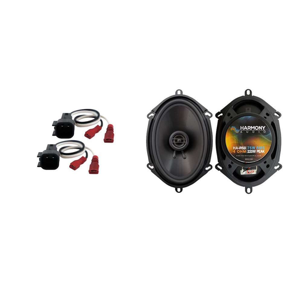 Fits Ford F-550 2017 Rear Side Panel Replacement Speaker Harmony HA-R68 Speakers