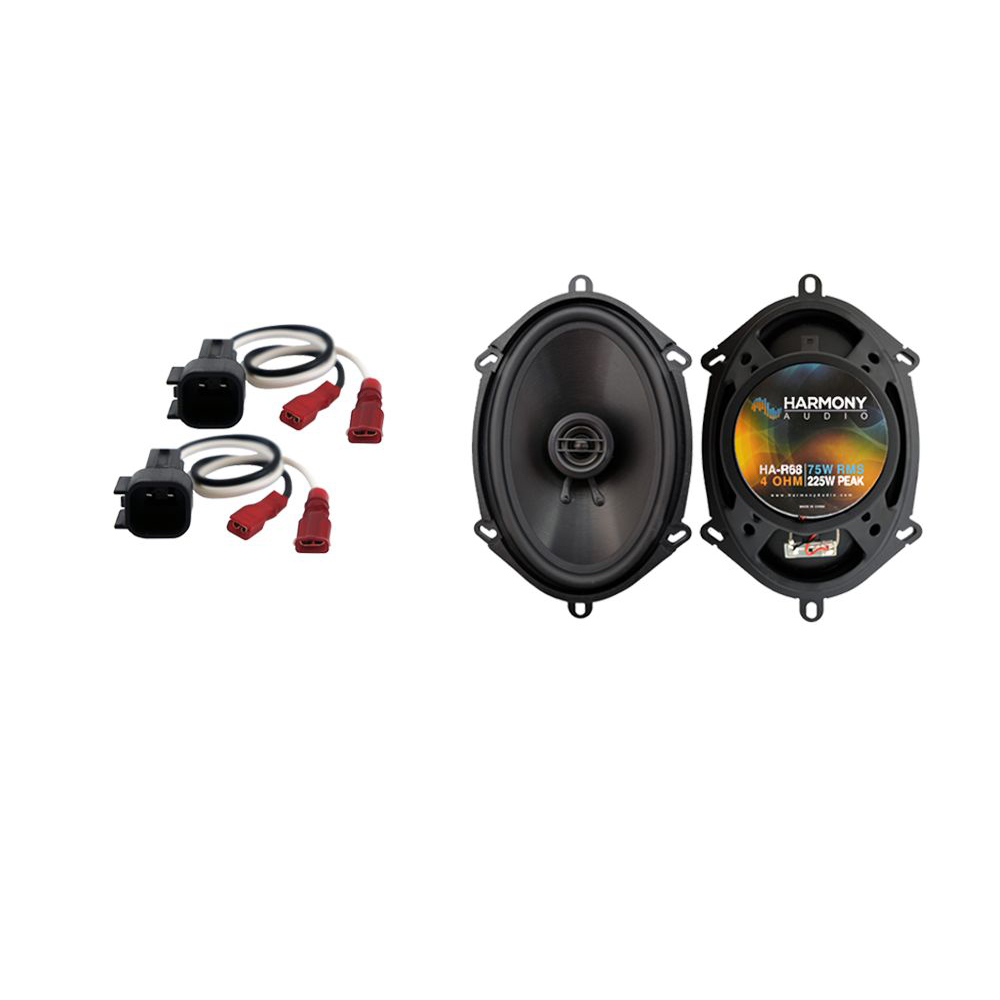 Fits Ford Focus 2000-2007 Front Door Replacement Harmony HA-R68 Speakers New