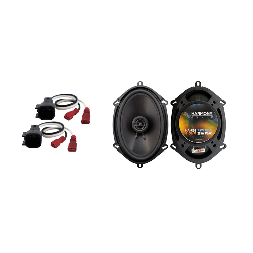 Fits Ford Focus 2000-2007 Rear Deck Replacement Speaker Harmony HA-R68 Speakers