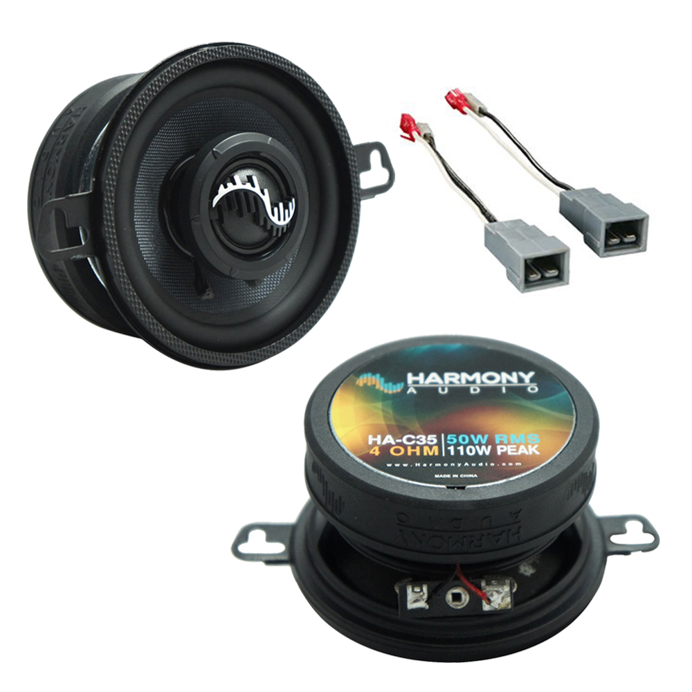 Fits Ford Mustang 1982-1985 Front Dash Replacement Harmony HA-C35 Premium Speakers New