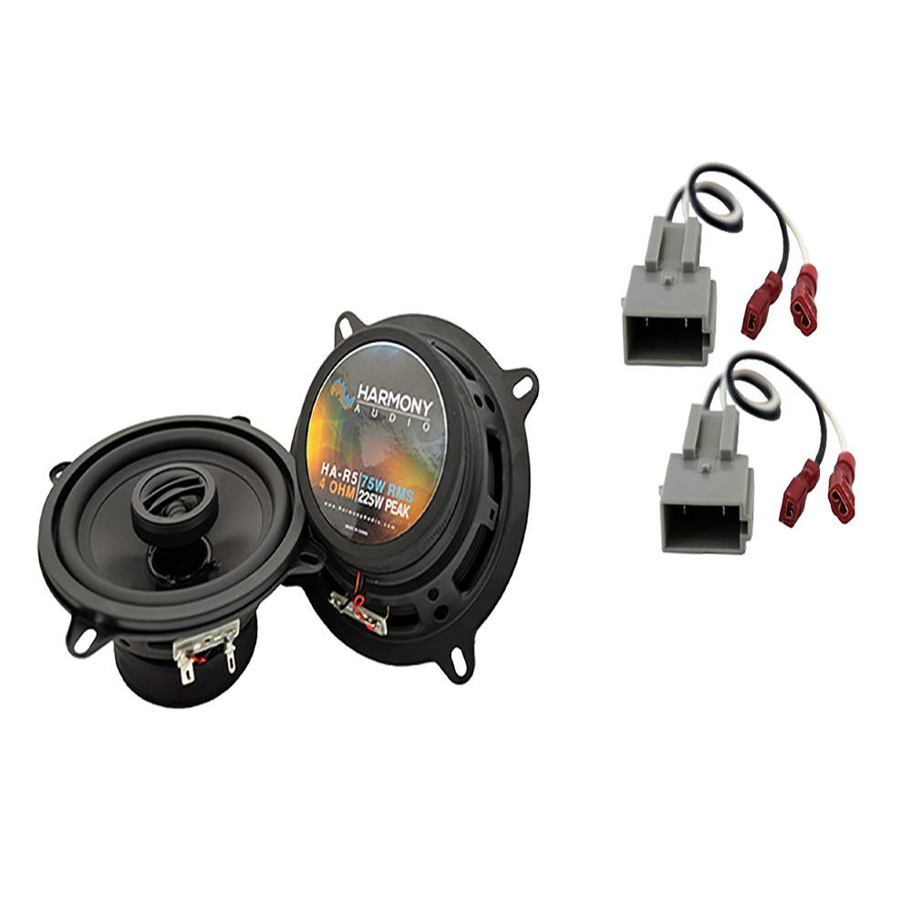 Harmony Audio Compatible With 1989-93 Ford Ranger HA-R5 New Front Door Replacement Speaker Pair