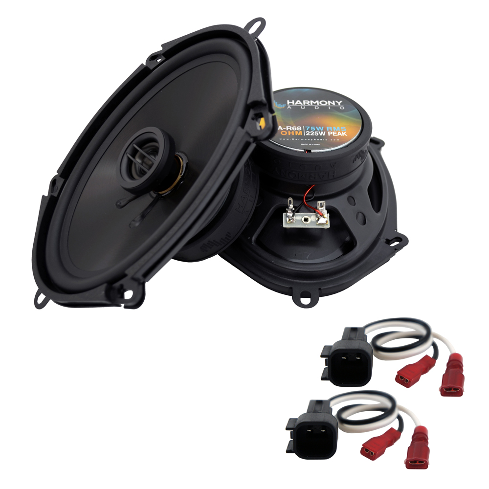 Harmony Audio Compatible With 1998-11 Ford Ranger HA-R68 New Rear Door Replacement Speaker Pair