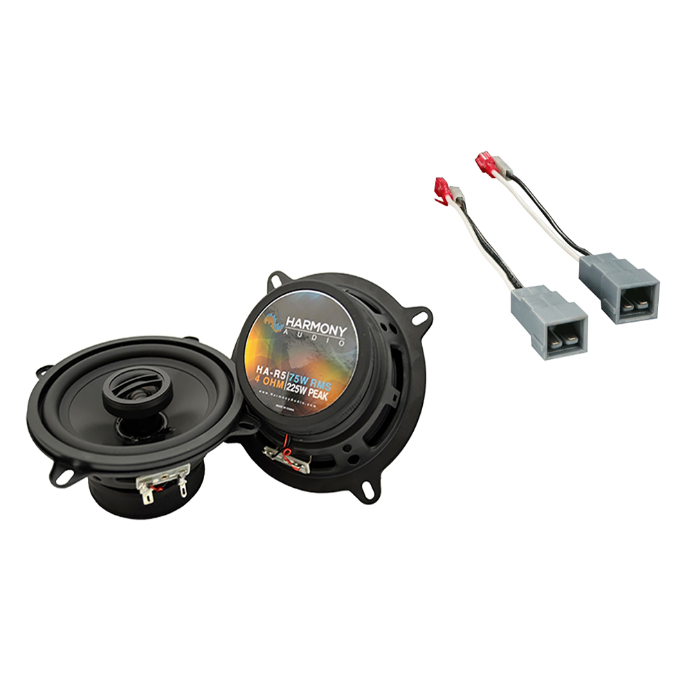 Fits Ford Tempo 1985-1988 Front Door Replacement Speaker Harmony HA-R5 Speakers