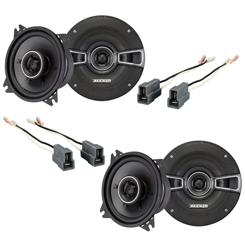 Hyundai Excel 1986-1994 Factory Speaker Replacement Kicker (2) KSC4 Package New