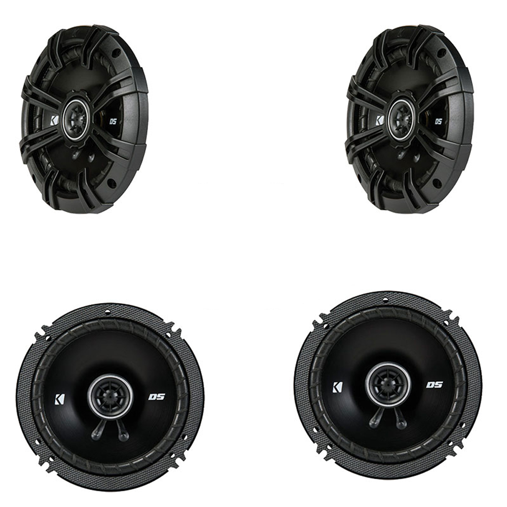 Hyundai Santa Fe 2007-2008 Factory Speaker Replacement Kicker (2) DSC65 Package