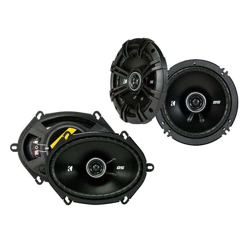 Kia Spectra 5 2005-2008 Factory Speaker Replacement Kicker DSC65 DSC68 Package
