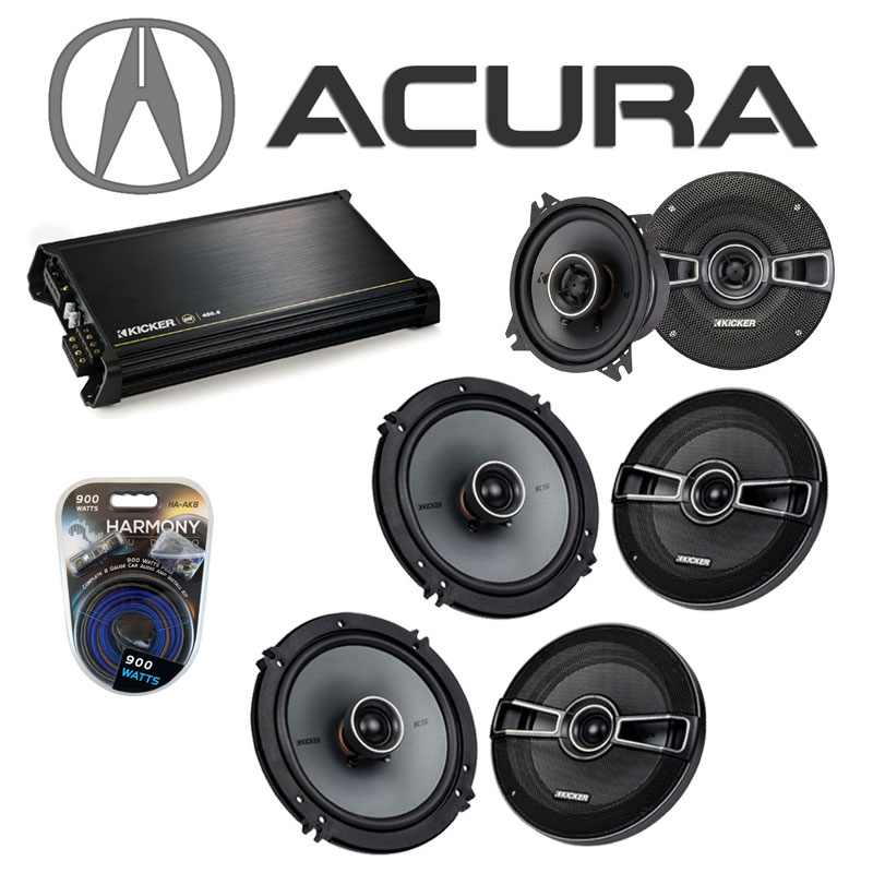 Acura MDX 2007-2014 Factory Speaker Upgrade Kicker (2