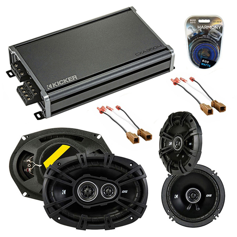 Nissan Pathfinder S 08-12 OEM Speaker Upgrade Kicker DS Series & CXA300.4 Amp