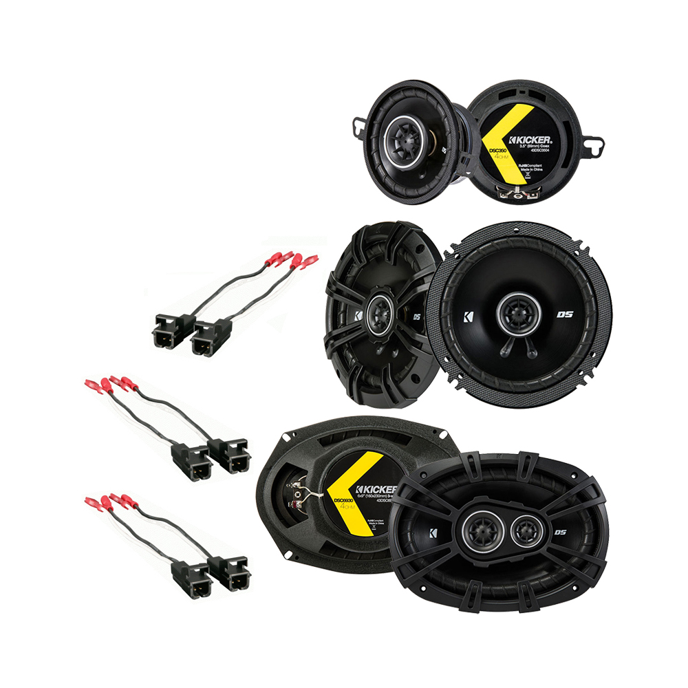 Buick Regal 1984-1987 Factory Speaker Replacement Kicker DS Series Package New