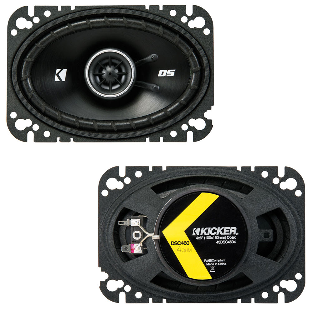 Oldsmobile Alero 1999-2000 OEM Speaker Upgrade Kicker DSC46 DSC693 Package New