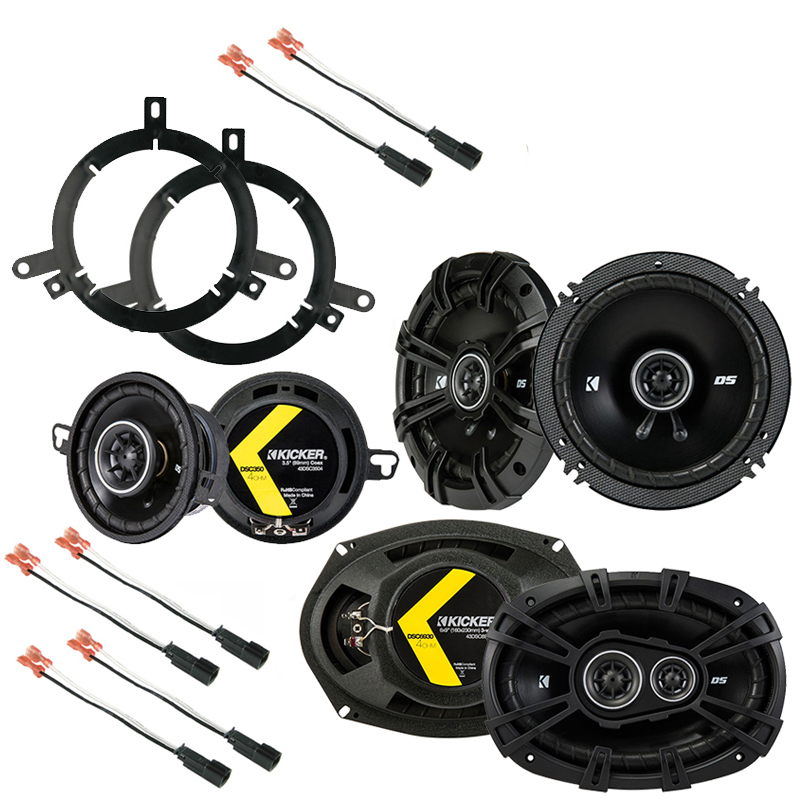 Plymouth Neon 1995-1999 Factory Speaker Replacement Kicker DS Series Package New