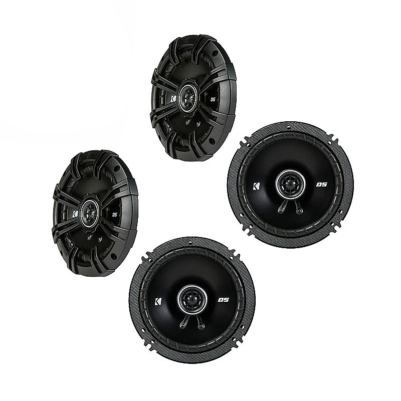 Saab 9-5 1998-2005 OEM Speaker Upgrade Kicker DS Series (2) DSC65 Package New