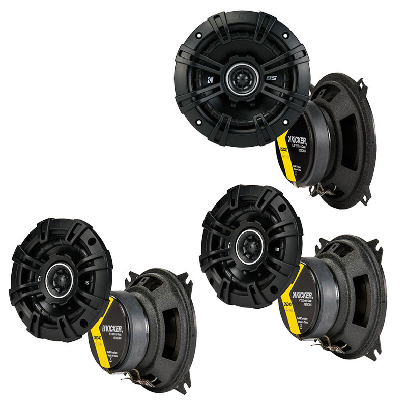 Volvo 740 Series 1985-1992 Factory Speaker Upgrade Kicker DSC4 DSC5 Package New