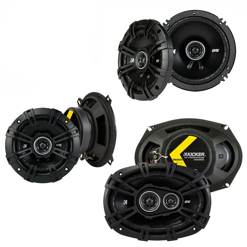 Volvo S90 / V90 1997-1999 Factory Speaker Upgrade Kicker DS Series Package New