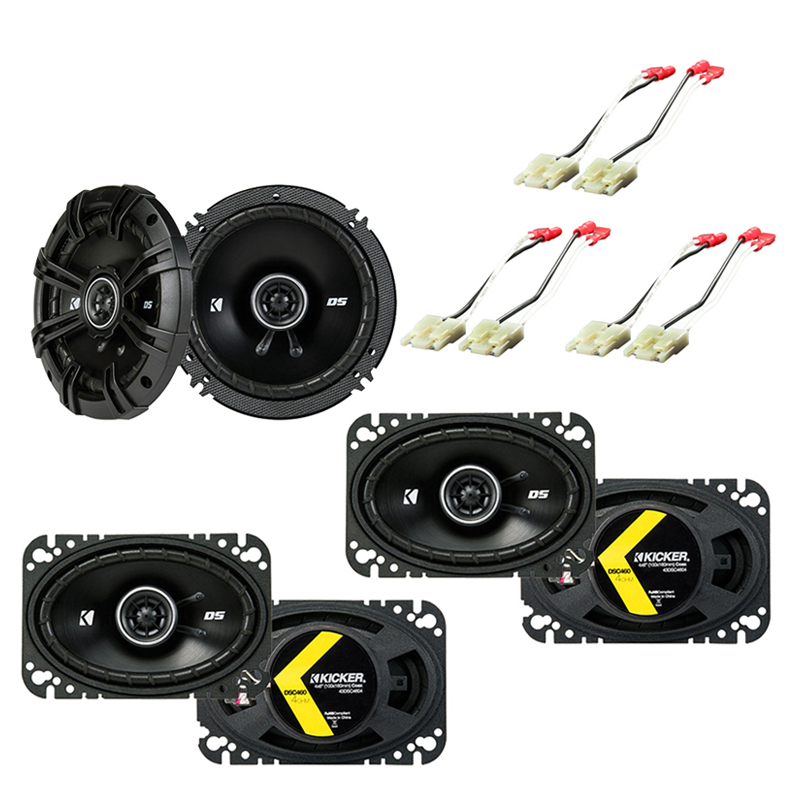 Chevy Suburban 1988-1994 Factory Speaker Upgrade Kicker DSC46 DSC65 Package New
