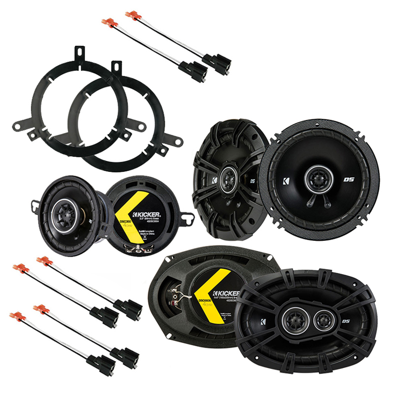 Chrysler 300M 1999-2004 Factory Speaker Replacement Kicker DS Series Package New