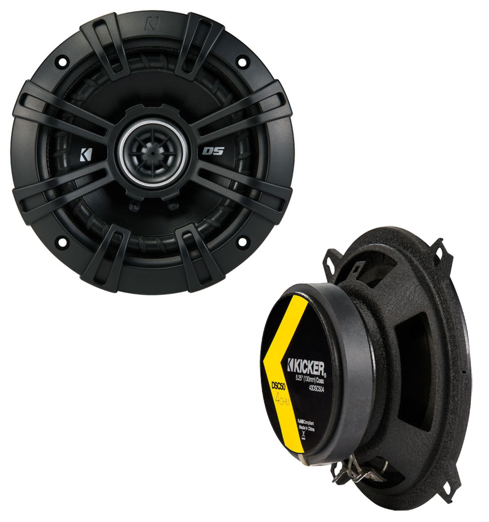 Dodge Aries 1981-1983 Factory Speaker Replacement Kicker DS Series Package New