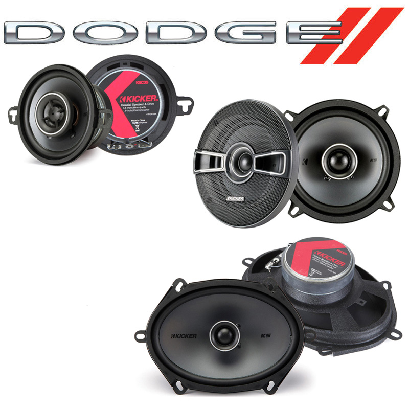 Dodge Aries 1981-1983 Factory Speaker Replacement Kicker KS Series Package New