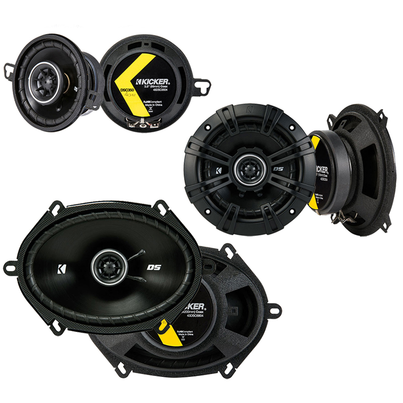 Dodge Aries 1984-1989 Factory Speaker Replacement Kicker DS Series Package New