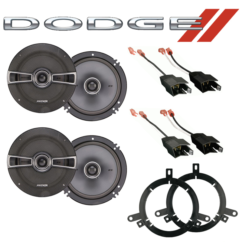 Dodge Durango 1998-2001 Factory Speaker Replacement Kicker (2) KSC65 Package New