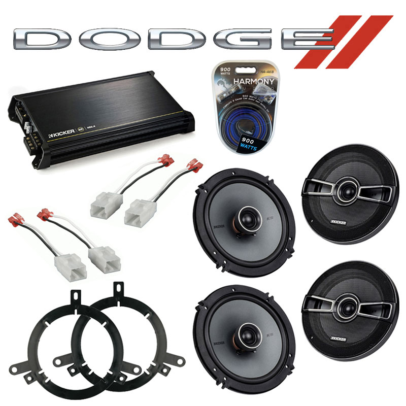 Cheap Car Audio Packages >> Dodge Durango 2004-2007 Factory Speaker Upgrade Kicker (2 ...