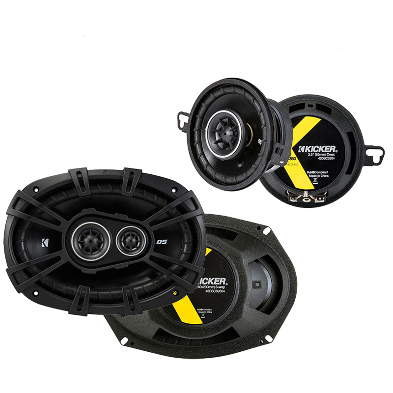 Dodge Mirada 1979-1982 Factory Speaker Upgrade Kicker DSC35 DSC693 Package New