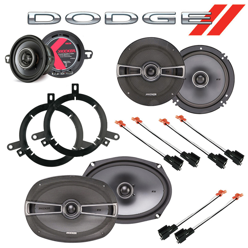 Dodge Neon 2002-2006 Factory Speaker Replacement Kicker KS Series Package New
