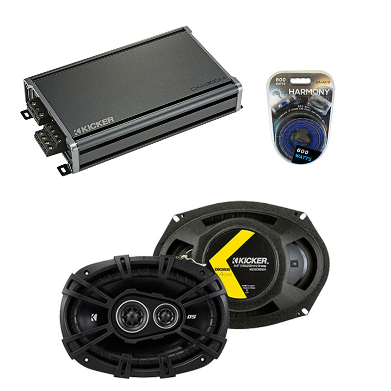 Compatible with Dodge Truck 1974-1983 Factory Speaker Replacement Kicker DSC693 & CXA360.4