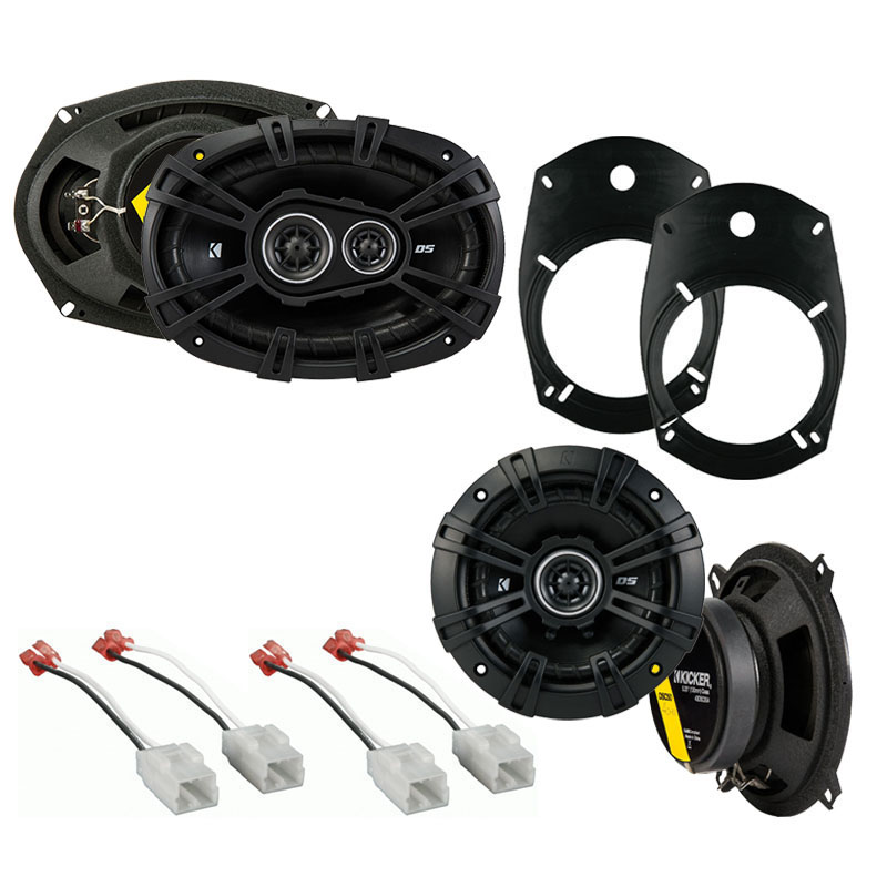 Dodge Ram Truck 1500 2002-2008 Factory Speaker Replacement Kicker DS Package New