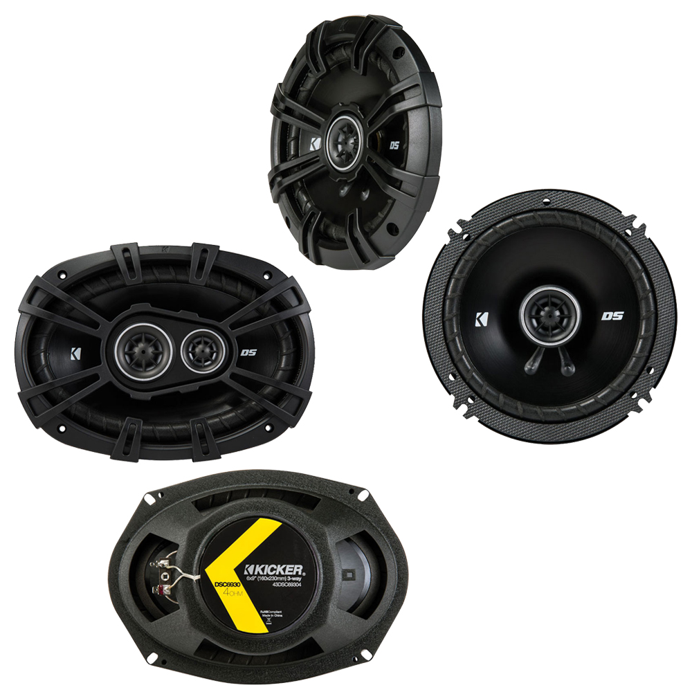 Dodge Stealth 1990-1996 Factory Speaker Upgrade Kicker DSC65 DSC693 Package New