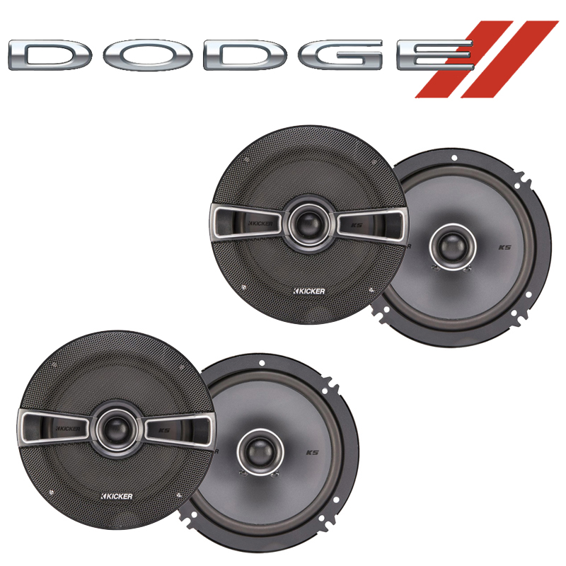 Dodge Viper 1993-2002 Factory Speaker Replacement Kicker (2) KSC65 Package New