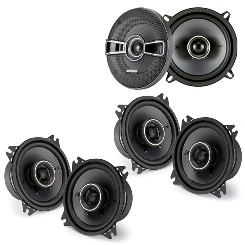 Fiat Spider 1970-1983 Factory Speaker Replacement Kicker KSC4 KSC5 Package New
