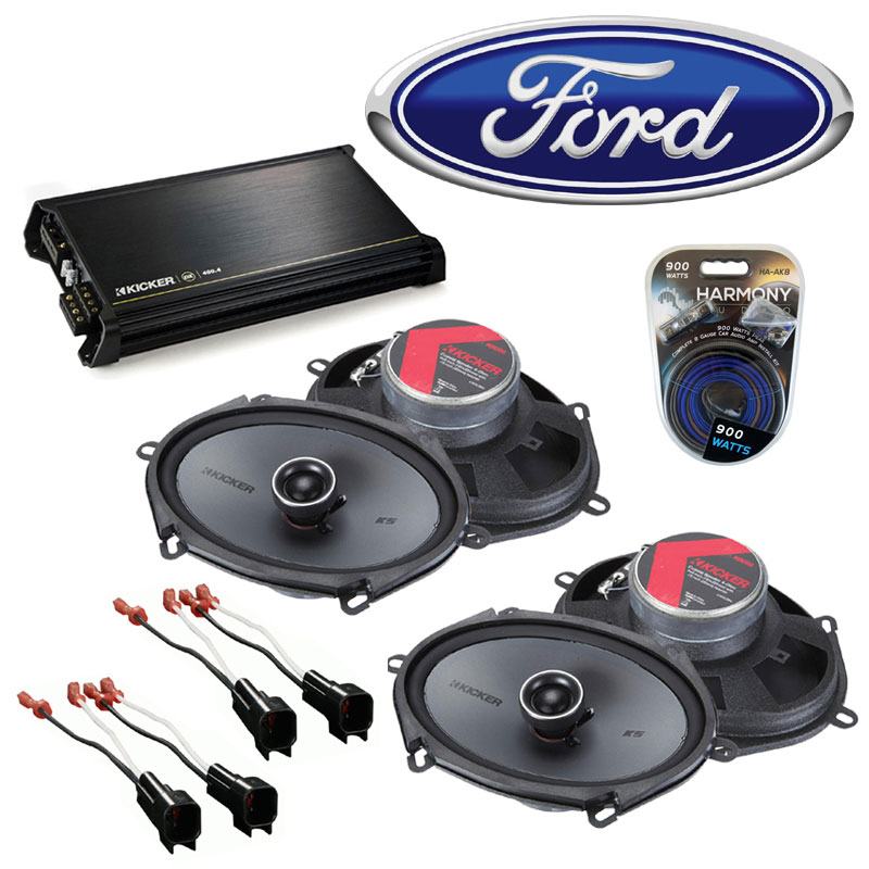 Fit Ford Escape 2001-2012 Factory Speaker Replacet Kicker (2 ...