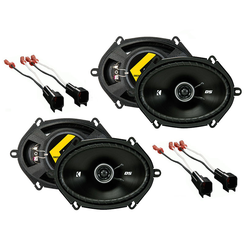 Ford Expedition 1999-2014 Factory Speaker Upgrade Kicker (2) DSC68 Package New