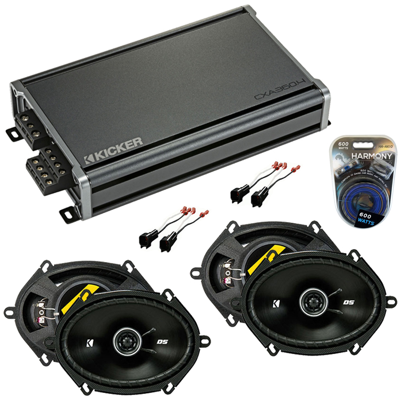 Compatible with Ford F-150 1997-2003 Factory Speaker Replacement Kicker (2) DSC68 & CXA360.4