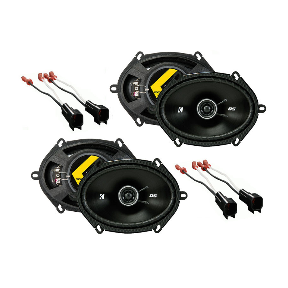 Ford Focus 2000-2007 Factory Speaker Replacement Kicker (2) DSC68 Package New