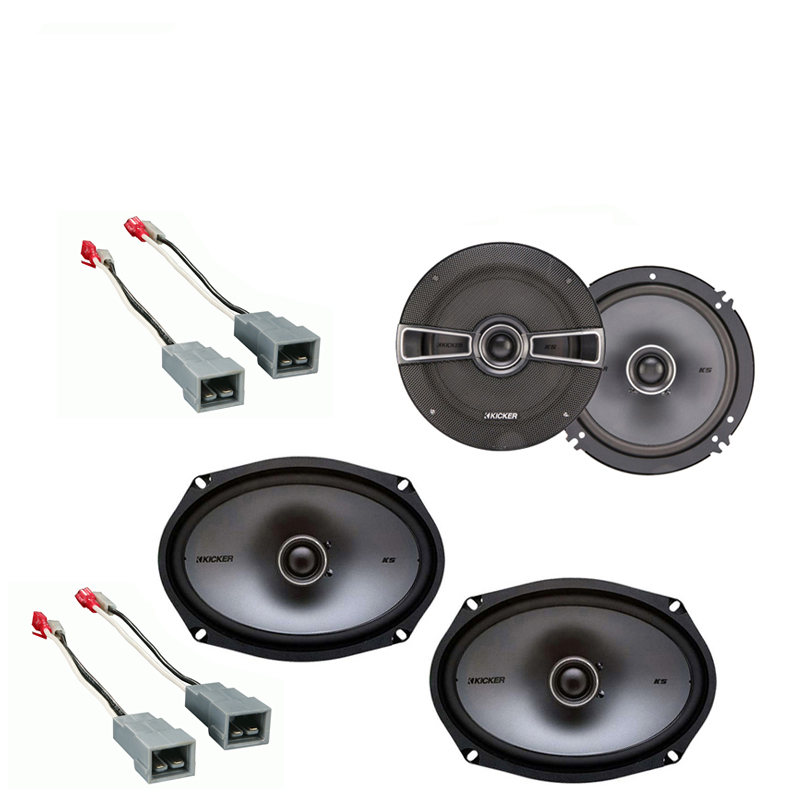 Ford F-Series Truck 1982-1986 Factory Speaker Replacement Kicker KS Package New