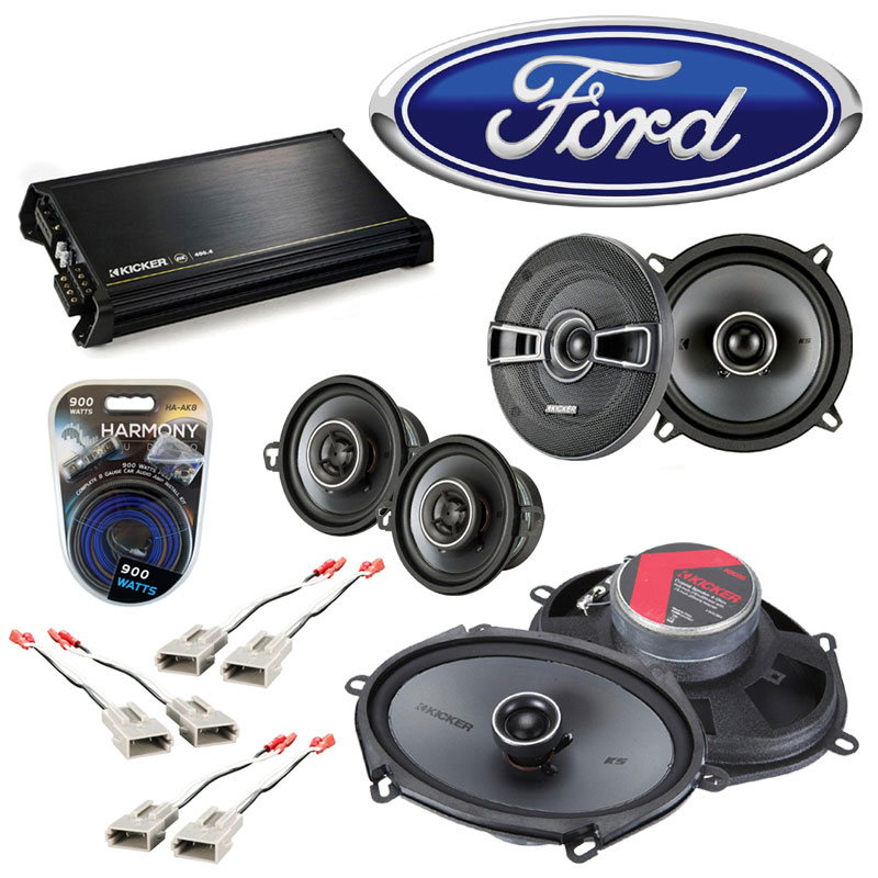 remove rear speakers    ford  crown victoria