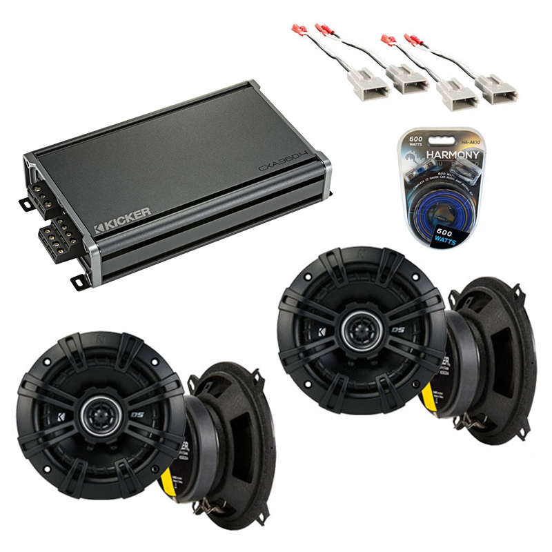 Compatible with Ford Ranger 1989-1993 Factory Speaker Replacement Kicker (2) DSC5 & CXA360.4