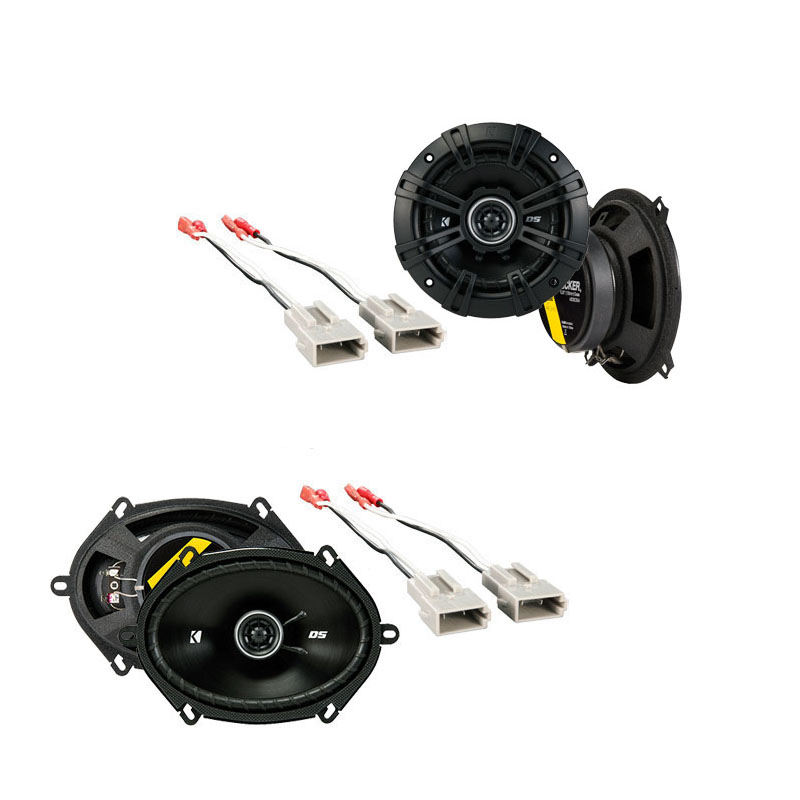 Ford Tempo 1989-1994 Factory Speaker Replacement Kicker DSC5 DSC68 Package New
