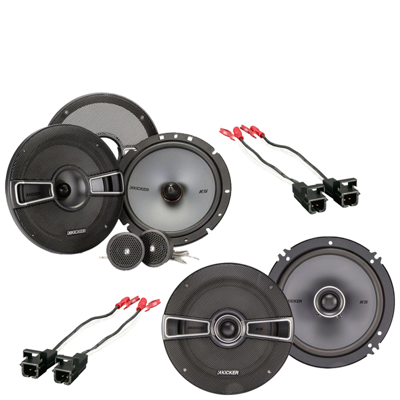 GMC Canyon 2004-2012 Factory Speaker Replacement Kicker KSS65 KSC65 Package New