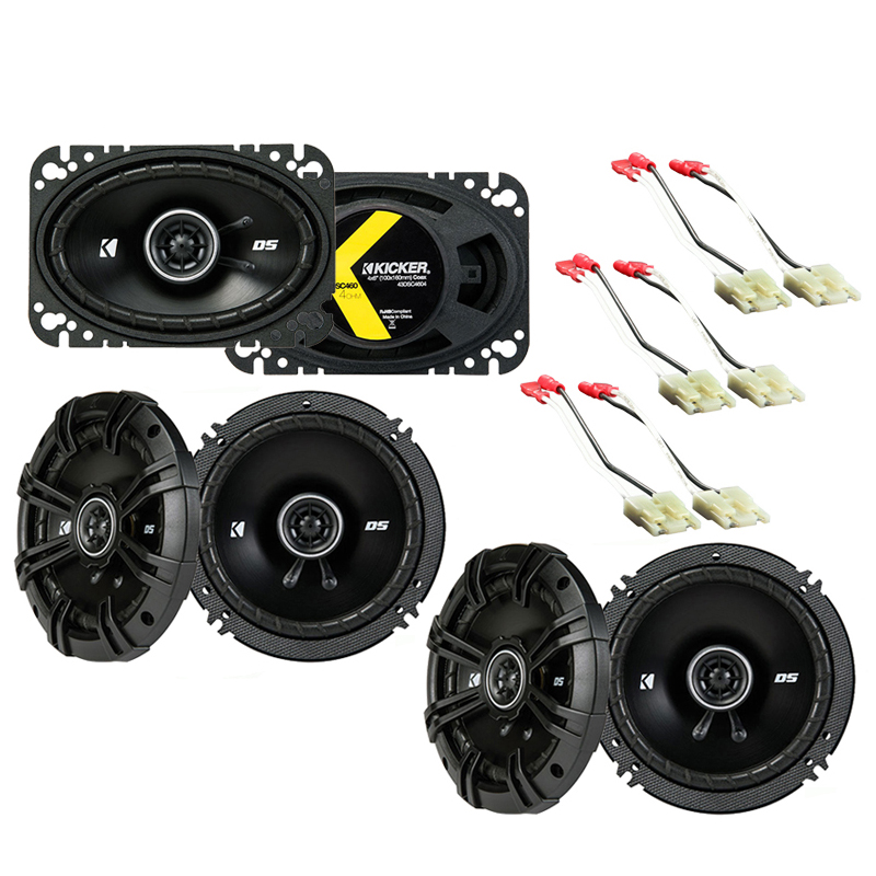 GMC Jimmy 1994-1994 Factory Speaker Replacement Kicker DSC65 DSC46 Package New