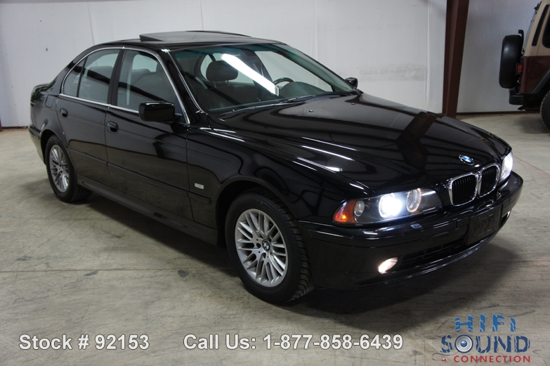2003 BMW 530I COLD  PREMIUM PACKAGE XENON MOONROOF HEATED SEATS