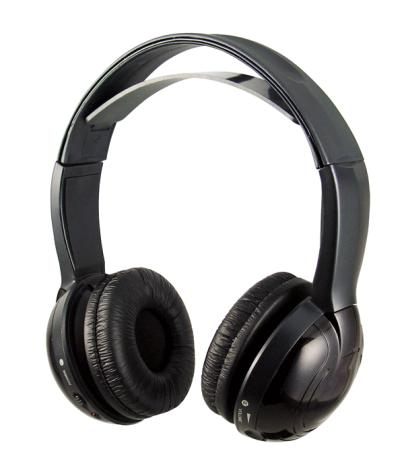 WLHP-1X2 Wireless Headphones from Power Acoustik