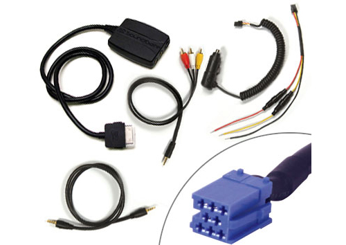 Volkswagen Beetle 99-07 Zune Car Adapter & Charger Kit (VWZNAUX1)