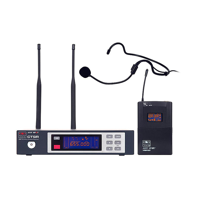 Galaxy Audio CTSR/85HS Any Spot CTS Series Headset System