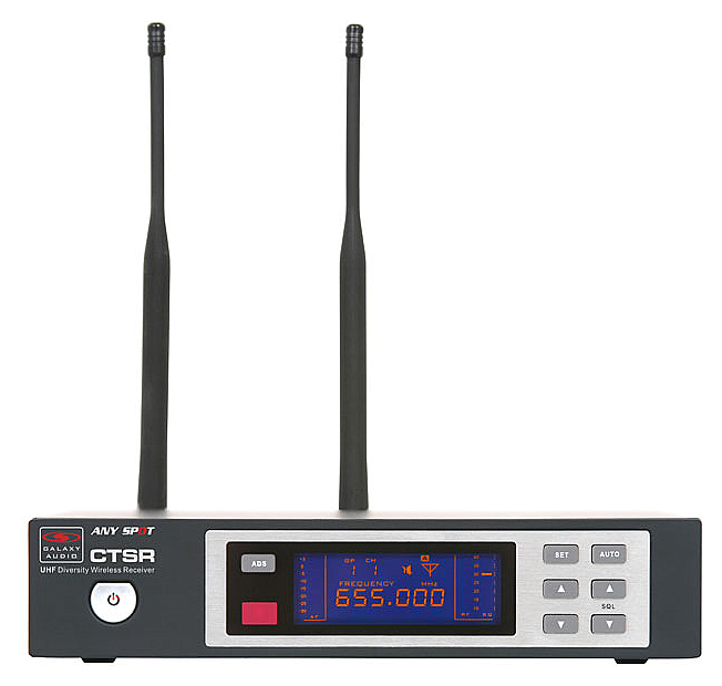 Galaxy Audio CTSR Any Spot CTS Series Receiver