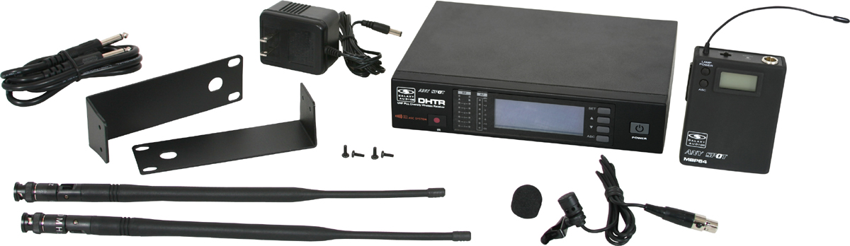 Galaxy Audio DHTR/76LV DHT Series Wireless Lavalier Microphone System